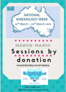 kinesiology week